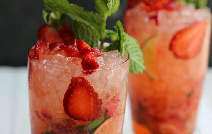 Δροσιστικό strawberry mojito για τα καλοκαιρινά σας βράδια!