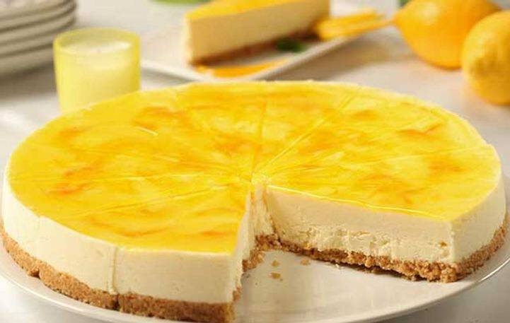 Υπέροχο cheesecake λεμονιού