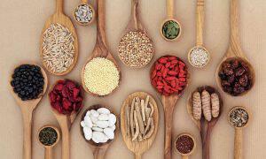 bigstock-Dried-super-health-food-select-121608368
