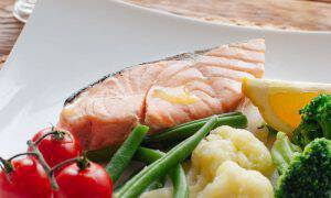 bigstock-Seafood-in-lent-Salmon-steak-121550180