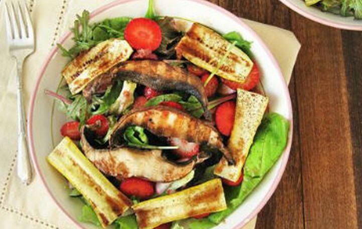 Σαλάτα με ψητά λαχανικά