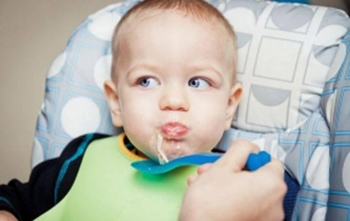 Σούπα ζυμαρικών για μωράκια