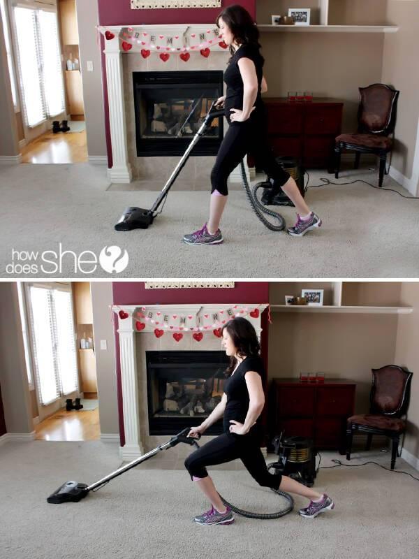 Πώς να γυμνάσετε όλο σας το σώμα κάνοντας δουλειές του σπιτιού