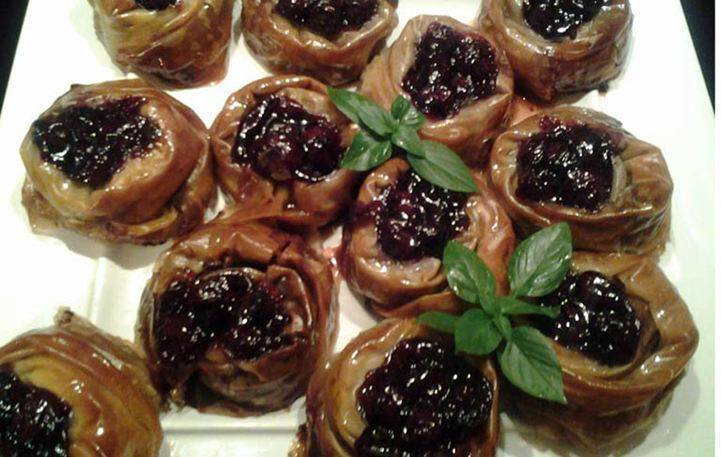 Μια γλυκιά συνταγή: Φωλιές με σοκολάτα και μαυροκέρασο!
