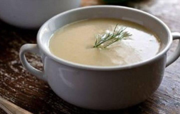 Νόστιμη σούπα βελουτέ με μαραθόριζα