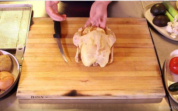 Πώς να κόψετε το κοτόπουλο γρήγορα και χωρίς κόπο