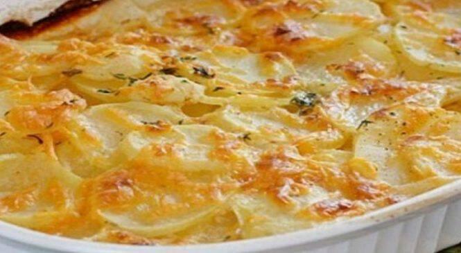 Μια διαφορετική συνταγή για πατάτες φούρνου- Πιο νόστιμες δεν έχετε ξαναδοκιμάσει!!!